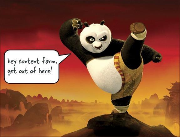 Le contenu ami numéro un de Google Panda