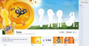 Page Facebook Fanta
