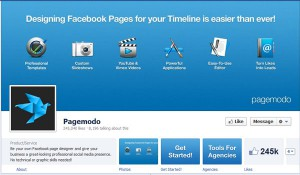 Page Facebook Pagemodo