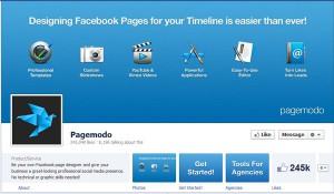 Page Facebook Pagemodo