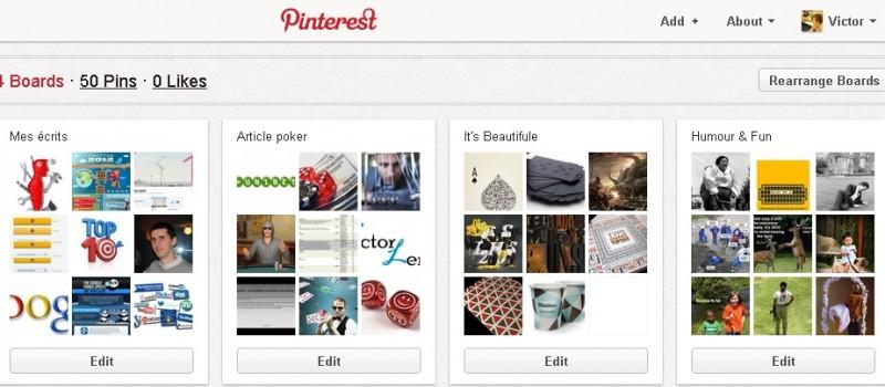 L'émergence de Pinterest