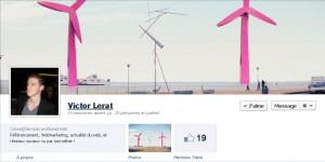 Page Facebook Victor Lerat