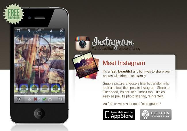 Instagram : pic et pic et colégramme