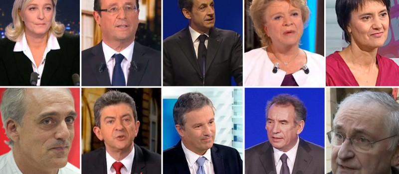 La présidentielle 2012 sur Facebook