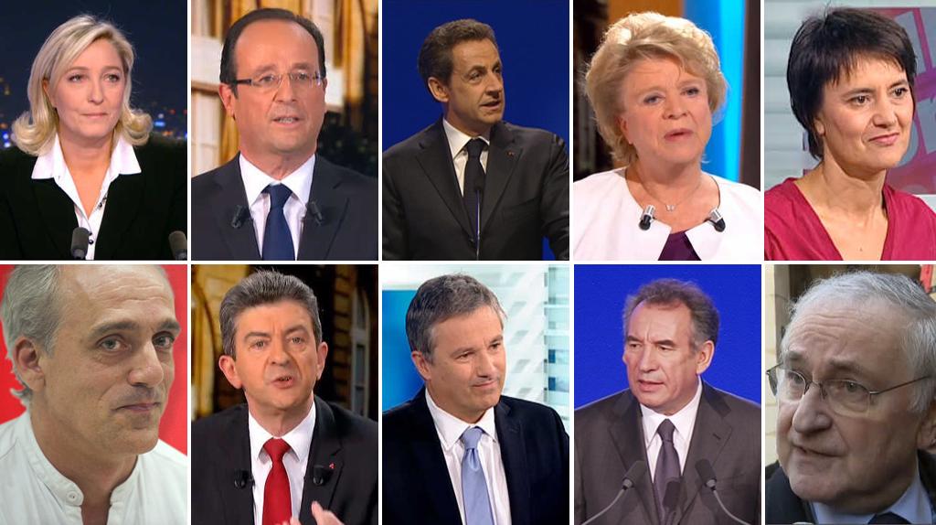 Présidentielle 2012 sur Facebook