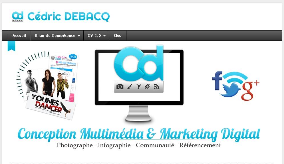 Nouveau logo pour le blog de Victor Lerat