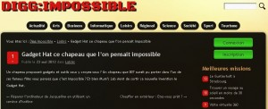 Digg Impossible