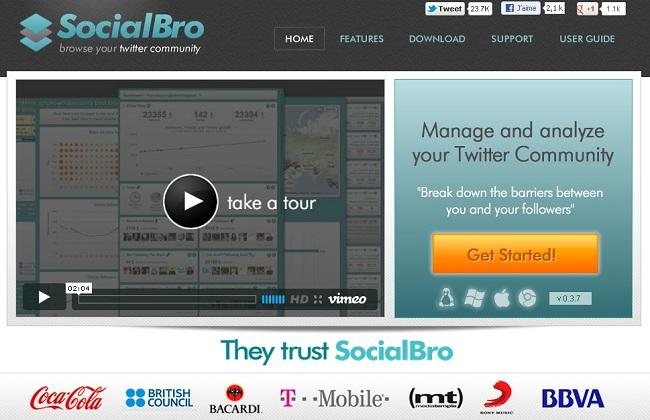 SocialBro : l'outil indispensable pour Twitter