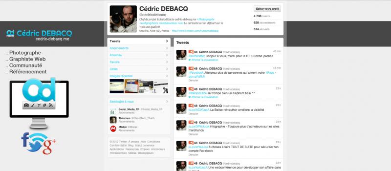 Votre profil Twitter à l'image de votre marque