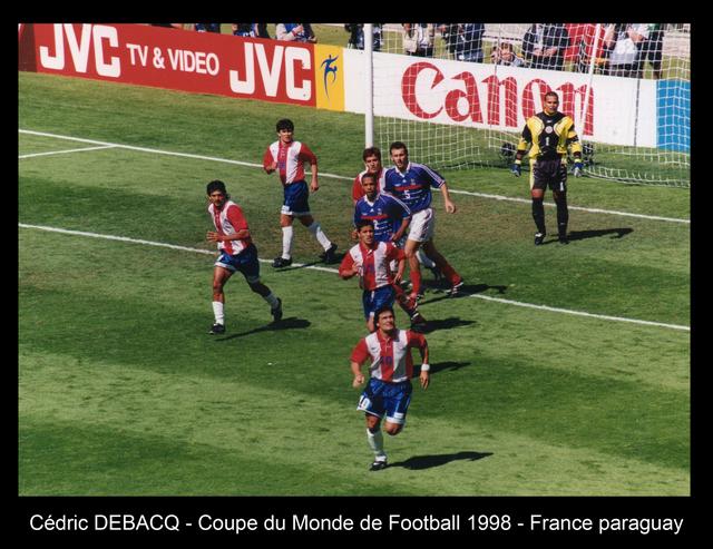 France Paraguay 1998