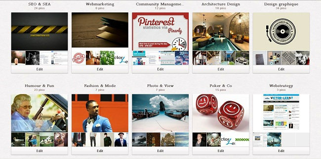 Pinterest : optimisation images