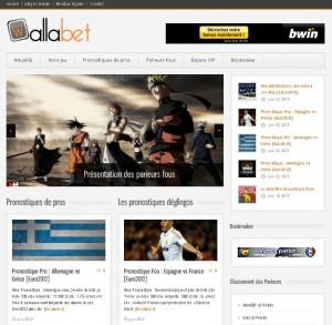 Wallabet.fr : responsive web design