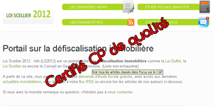 CP Immobilier 2012