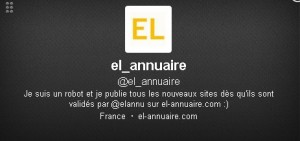 Compte Twitter El-annuaire