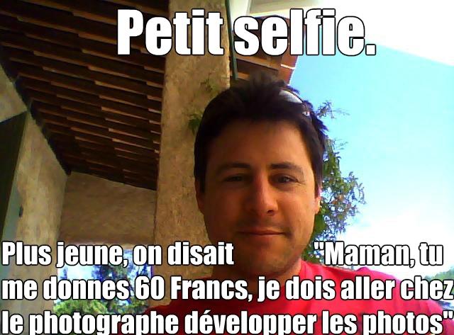 Selfie Laurent Tulpan