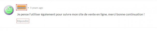 Commentaire blog