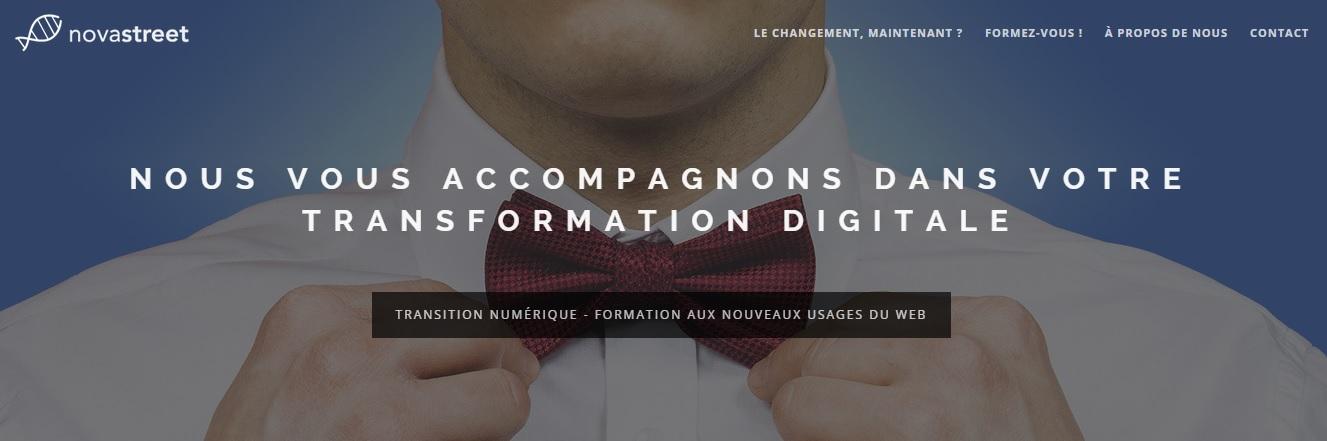 Novastreet : « s'engager dans la transition numérique »