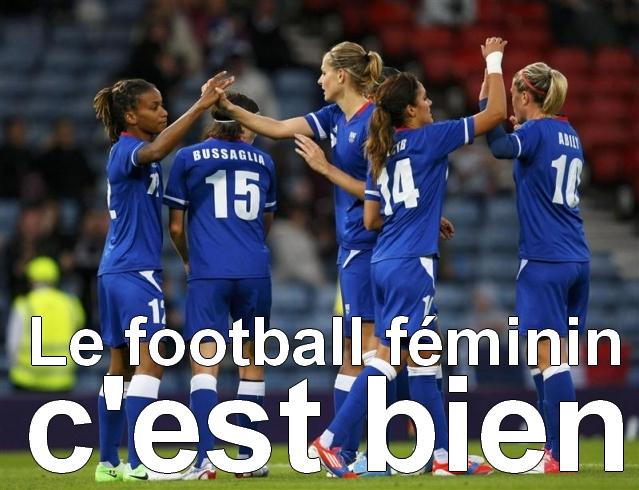 foot féminin c'est bien